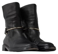 Balenciaga Bootie Boot Leather Black Boots