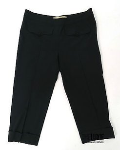 Balenciaga 0 Cropped Trouser Fitted Cuffed Pants