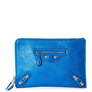 Balenciaga Wristlet in Blue