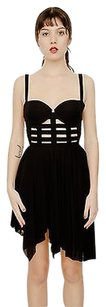 Balmain short dress Black Asymmetrical on Tradesy