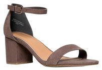Bamboo Ankle-strap Beige Sandals