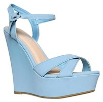 Bamboo Blue Wedges