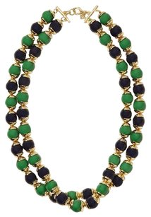 Banana Republic Banana Republic Mad Men Blue Green Double Strand Necklace NIP $39.99