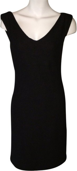 Banana Republic Wool Knee Knee Length Zipper Chic Dress