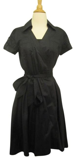 Preload https://item3.tradesy.com/images/banana-republic-black-limited-edition-a-line-cotton-wrap-tied-long-formal-dress-size-4-s-10441807-0-1.jpg?width=400&height=650