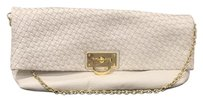 Banana Republic White Clutch