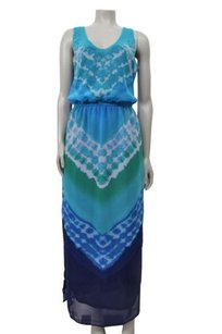 Blue Maxi Dress by Banana Republic Factory