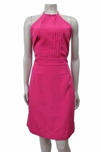 Banana Republic Bib Front Halter Dress