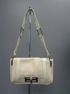 Banana Republic Cream Two Tone Satchel B2923 Shoulder Bag