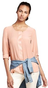 Banana Republic Top Peach