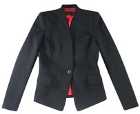 Barbara Bui 38 Black Blazer Lg Coat