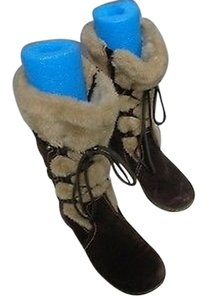 Bare Traps Snow Winter Brown Boots