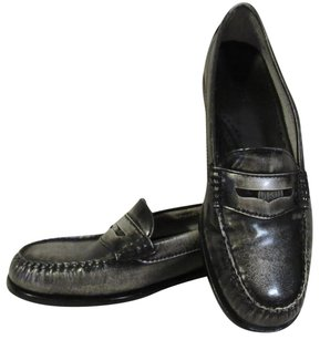 Bass Silver burnished pewter Flats