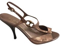 BCBG Paris Metallic Brown Formal