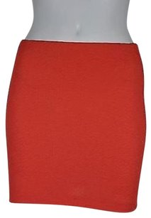 BCBGeneration Womens Skirt Orange