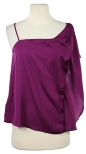 BCBGeneration Womens Shirt Party Casual Top Purple