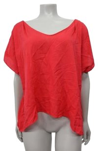 BCBGeneration Bcbg Generation Cutout Top red