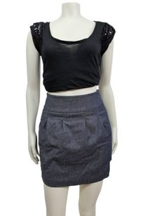 BCBGMAXAZRIA Bcbg Maxazria Mini Skirt Chambray