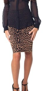 BCBGMAXAZRIA Mini Skirt Cheetah print