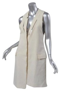 BCBGMAXAZRIA short dress Ivory Max Azria Womens Classic Woven Sleeveless Tux Shift on Tradesy