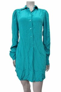 BCBGMAXAZRIA short dress Bright blue surf Bcbg Maxazria Shirt on Tradesy