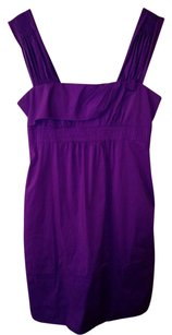 BCBGMAXAZRIA short dress purple Ultraviolet Zipper Summer Pockets on Tradesy