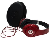 Beats By Dre Red Beats By Dre Used Twice Comes With Case