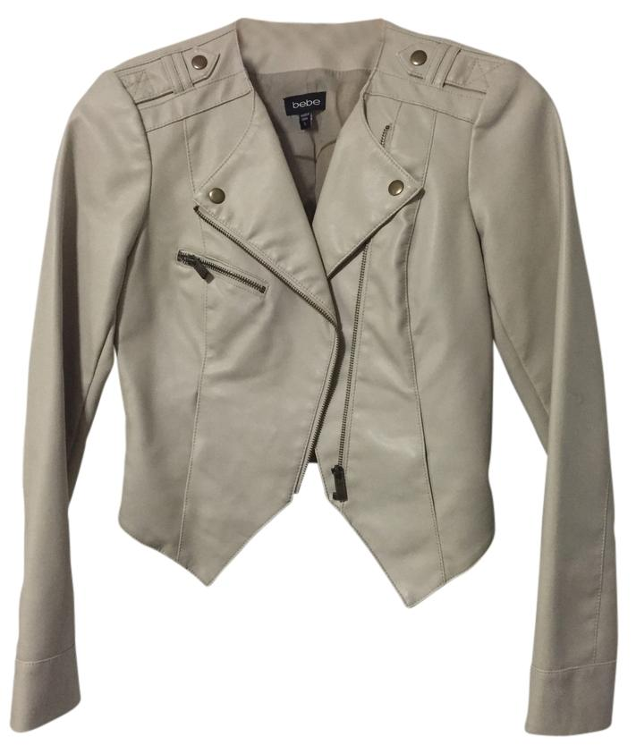 how to wear cream leather jacket