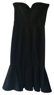 bebe Bustier Strapless Lbd Dress