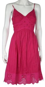 Beth Bowley Womens Sheath Cotton Spaghetti Strap Casual Summer Dress