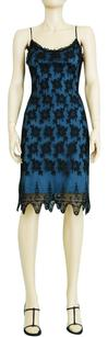 Betsey Johnson Lace Vintage Date Slip Fitted Dress
