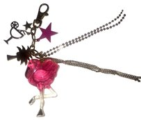 Betsey Johnson Betsey Johnson Flamingo Key Chain