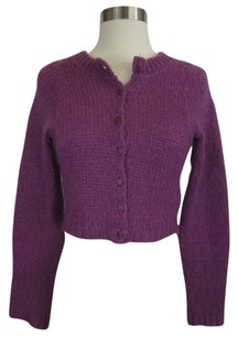 Betsey Johnson One Purple Sweatshirt
