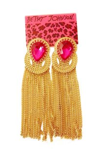 Betsey Johnson Pink Gems