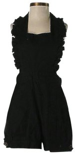Betsey Johnson Scoop Back Ruffle Dress