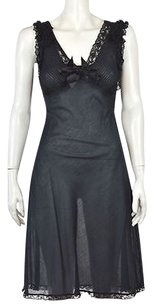 Betsey Johnson Womens Sheath Cotton Sleeveless Knee Length Dress