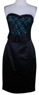 Betsey Johnson Womens Black Dress