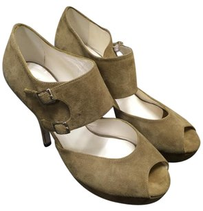 Bettye Muller Olive Pumps