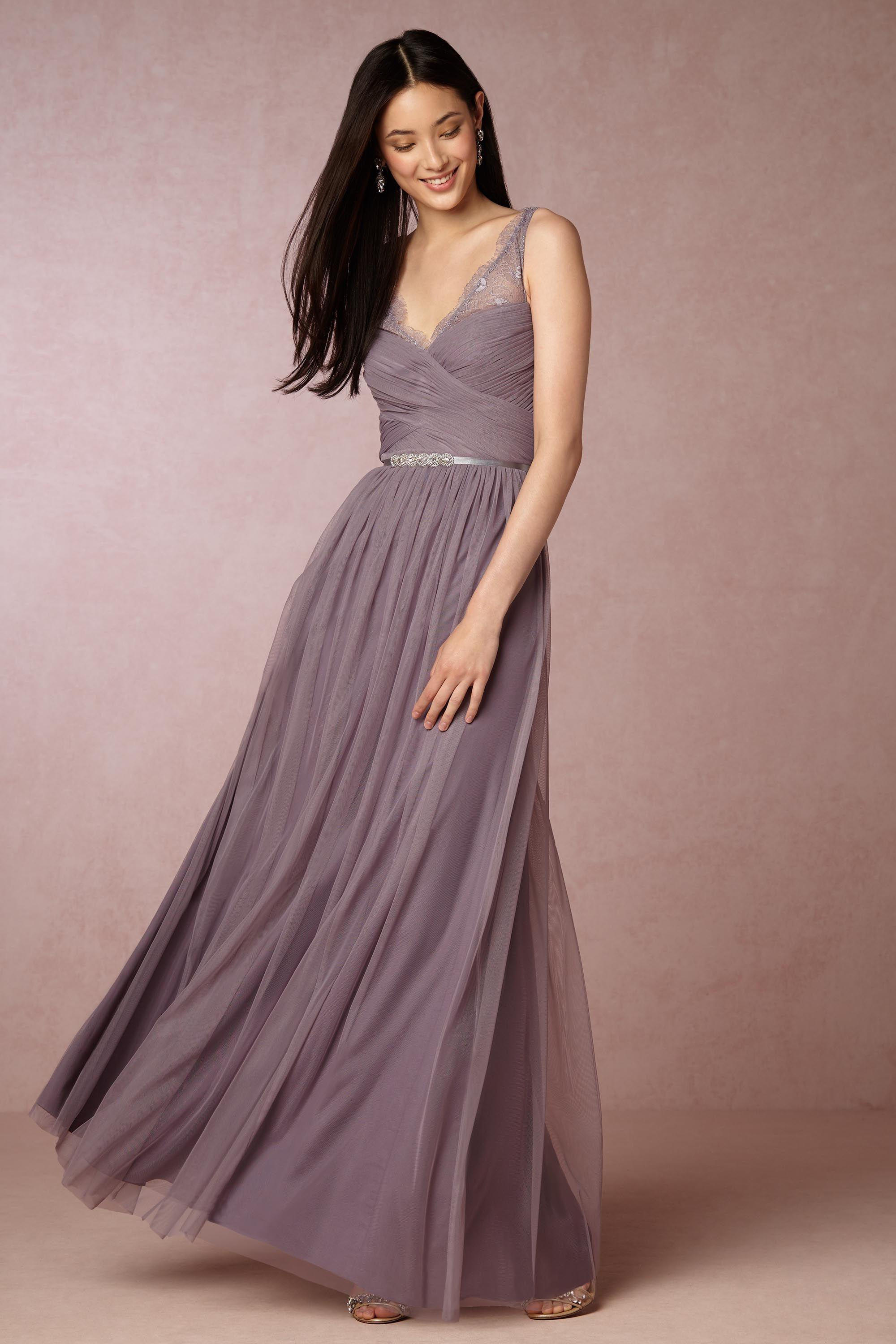 plum dress for wedding bhldn dusty plum tulle fleur feminine bridesmaid mob dress 6644