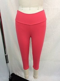 Bia Brazil Bia Brazil Coral Two Back Pocket Crop Yoga Pants