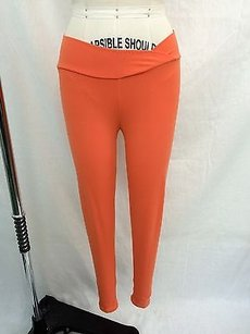 Bia Brazil Bia Brazil Orange Crop Yoga Pants