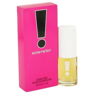 Bicici & Coty EXCLAMATION by COTY ~ Mini Cologne Spray .375 oz
