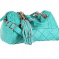 Big Buddha Satchel in Turquoise