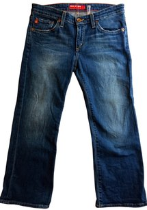Big Star Capri Capri/Cropped Denim-Medium Wash