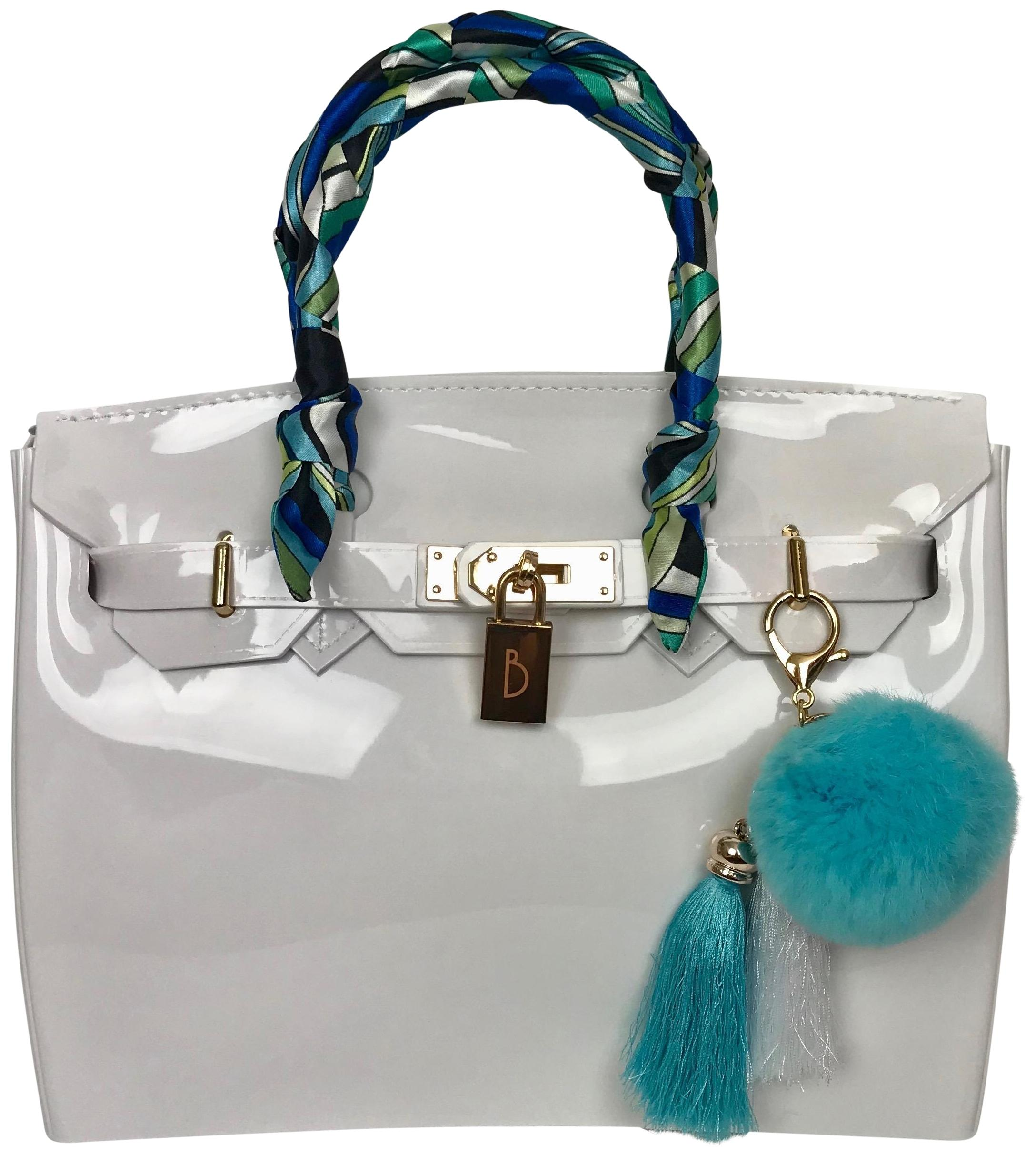 9fabab8e19b8 ... low price jelly couture hermes birkin beach pvc tote in white c79ef  c27d7