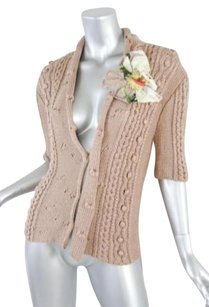 Blumarine Womens Blush Sweater