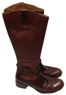 B.O.C. Leather Casual Winter Brown Boots