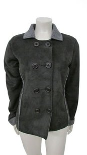 Boden Double Breasted Black Jacket