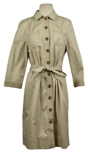 Boden Womens Trench Beige Jacket