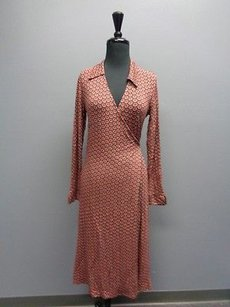 Boden Stretchy Long Sleeved Wrap Tie R Sma1002 Dress